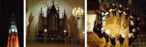 Kościół kalwiński_na chórze i przy ołtarzu_fot T Sienicki